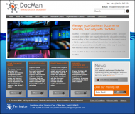 DocMan Site | Document Management Solutions from Terrington Data Management